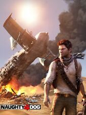 POSTER LOCANDINA FOTO UNCHARTED 2 3 DRAKE'S DECEPTION NAUGHTY DOG PS3 XBOX 360 3