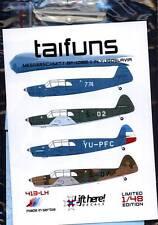 lh413/ Lift Here Decals - Bf-108 B-1 Taifun - Jugoslawien - 1/48 - TOPP