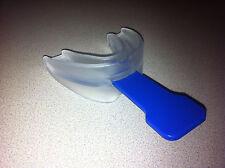 Anti Stop Snoring Sleep Apnea Mouth Guard Teeth Night Aid Silicone Health CUST