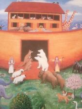 Noah's Ark Poster Children's Art New
