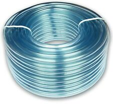 Clear flexible pvc hose/tube/pipe,all sizes,& lengths,fish,air,fuel,water,