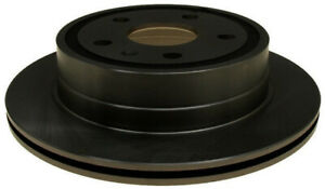 Disc Brake Rotor-Non-Coated Rear ACDelco 18A2727A