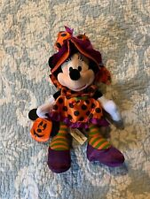 Minnie Mouse Halloween Witch Trick Or Treat Nwt Souvenir Cute