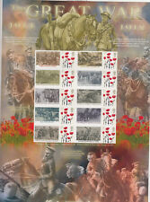 History of Britain No.90 Warhorses - The Great War 1914 -1918. MNH.