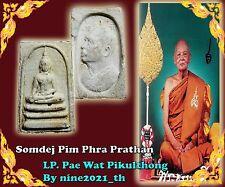 are!Somdej Pim Phra Prathan LP Pae Wat Pikulthong Old Thai Amulet Buddha Free