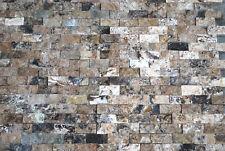 Antique Onyx 1x2 Splitface Travertine Tile Decor Wall Backsplash Kitchen Bath