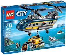 LEGO 60093 City Deep Sea Explorers Helicopter Set