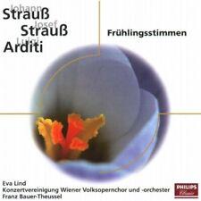Frühlingsstimmen (Philips, 1983/87) Johann Strauß, Josef Strauß, Luigi Ar.. [CD]