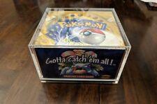 Pokemon Booster Box PROTECTIVE CASE (Base set 1,2, Neo, Legendary, Gym ect)