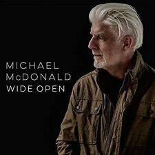 MICHAEL McDONALD WIDE OPEN CD (PRE-ORDER To Be Released September 15th 2017)
