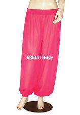Violet Red Harem Yoga Pant Belly Dance Costume Pantalons Trouser Genie Halloween