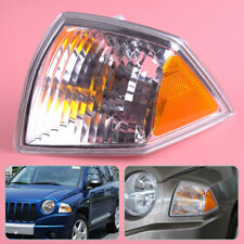 Decor Front Fit for Jeep Compass 2007-2010 Left Side Turn Signal Parking Light