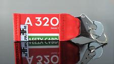 Air Berlin A320 Schlüsselanhänger by FlapsFive Safety Card original Aviation