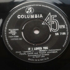 "Pearl Carr And Teddy Johnson - If I Loved You / Tell Me Again And Again 7"" Vinyl"