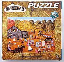 jigsaw puzzle 1000 pc Heartland Pickering Hill Orchard pumpkin patch Halloween