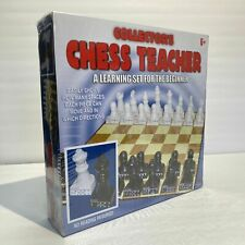 Cardinal Collectors Chess Teacher Game Learning Teaching Set GM3 Damaged Box NEW