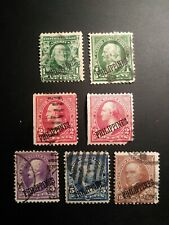 New ListingUs possessions used Philippines early issues set of 7 stamps