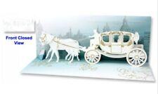 Panoramics Pop-Up Greeting Card - Wedding Carriage