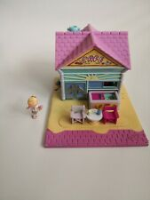 Vintage Polly Pocket Beach Cafe 1993 By Bluebird & figure