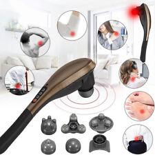 Electric Handheld Cordless Massage Machine Body Neck Back Feet Massage 7in1 25W