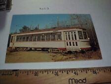 MONTREAL TRAMWAYS 2052 Trolley 1927 Streetcar Seashore Museum station depot 7A