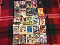 HALL OF FAME Baseball Card Lot 1973-2019 BABE RUTH KEN GRIFFEY JR. JOHNNY BENCH+