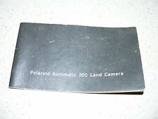 Original Vintage Polaroid Automatic 100 Camera Instruction Manual~VG Condition