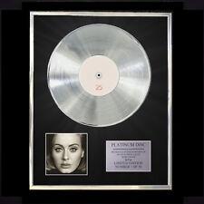 ADELE 25  CD PLATINUM DISC VINYL LP FREE SHIPPING TO U.K.