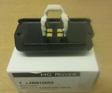 MGZR ROVER 25 200 HEATER FAN RESISTOR JGH10002 New genuine part GT MG SPARESLTD