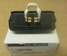 MGZR ROVER 25 200 HEATER FAN RESISTOR JGH10002 New genuine part GT MG SPARESLTD