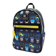 Loungefly Batman 80th Chibi Mini Backpack NEW Bag School