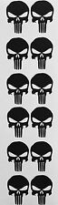 "12 PUNISHER AMERICAN SNIPER SKULL CELL PHONE iPOD DIE CUT DECAL STICKER 1.5""x 1"""