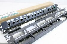 Panduit - CP24BLY - 24 Port Patch Panel - Lot