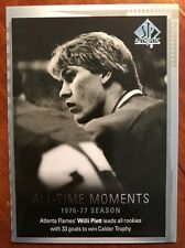 2015-16 UD SP Authentic Hockey All Time Moments Willi Plett #134