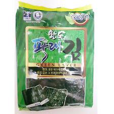 Korean natural green laver Seaweed Dried Laver for sushi,gimbab, nori 1900 sheet
