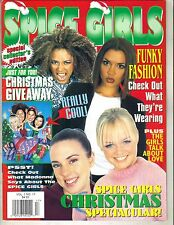 SPICE GIRLS Hit Sensations VOL 1 No 17 1998 CHRISTMAS SPECTACULAR WITH GIVEAWAY