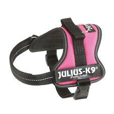 Julius-K9, 162DPN-M, Powerharness Interchangeable hook & loop Patch M Dark Pink