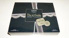 New Limited Edition NYX Box of Goodies Advent02 Calenda 12 Shadows and Lipsticks
