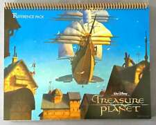 Treasure Planet - Reference Pack with Art Work -- NEW, PERFECT CONDITION