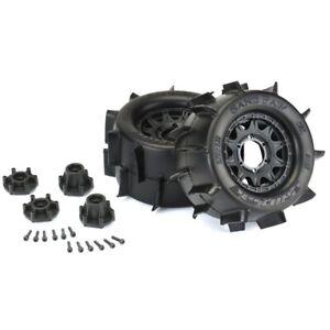 Pro-Line Sand Paw 2.8 Paddle Tires Raid Front Rear Adjust Offset Wheels 12mm Hex
