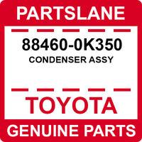 TOYOTA GENUINE 88460-0K350 CONDENSER ASSY,COOLER OEM