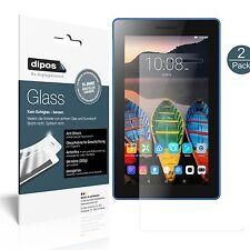 2x Lenovo Tab 3 7 Essential TB3-710F Schutzfolie matt - Folie Glasfolie 9H