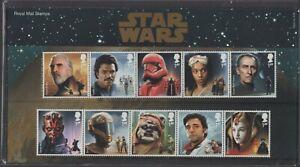 2019  Star Wars + Mini Sheet Presentation Pack 579 - Ref:5622