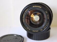 PENTAX K P/K Miranda Manuel 28-70 mm Angle Large Objectif Macro Fit K1000 MX ME etc