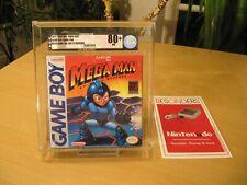 NINTENDO GAMEBOY - MEGA MAN DR WILYS REVENGE - VGA 80+ NM NEW - NEU