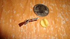 "Vintage Hat/lapel Pin -  ""Rifle""  - old inventory from the 80's"
