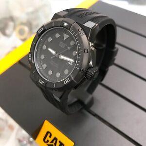 CATERPILLAR Shock Diver CAT SI.161.21.121 Men's sport 45mm Silicone Watch