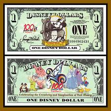 """Disney 1 Dollar, 2002 """"AA"""" Series DisneyLand Mickey Steamboat Uncirculated"""