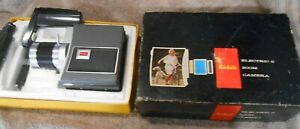 VINTAGE KODAK Electric 8 with Kodak Zoom  Lens f/1.6 w/ Original Box + Straps