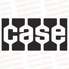 Case  IH Tractor Logo Vinyl Decal Tractors Sticker SET OF 2